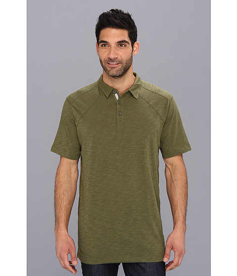 ExOfficio - ExO JavaTech Polo S/S Shirt (Algae) Men's Short Sleeve Knit