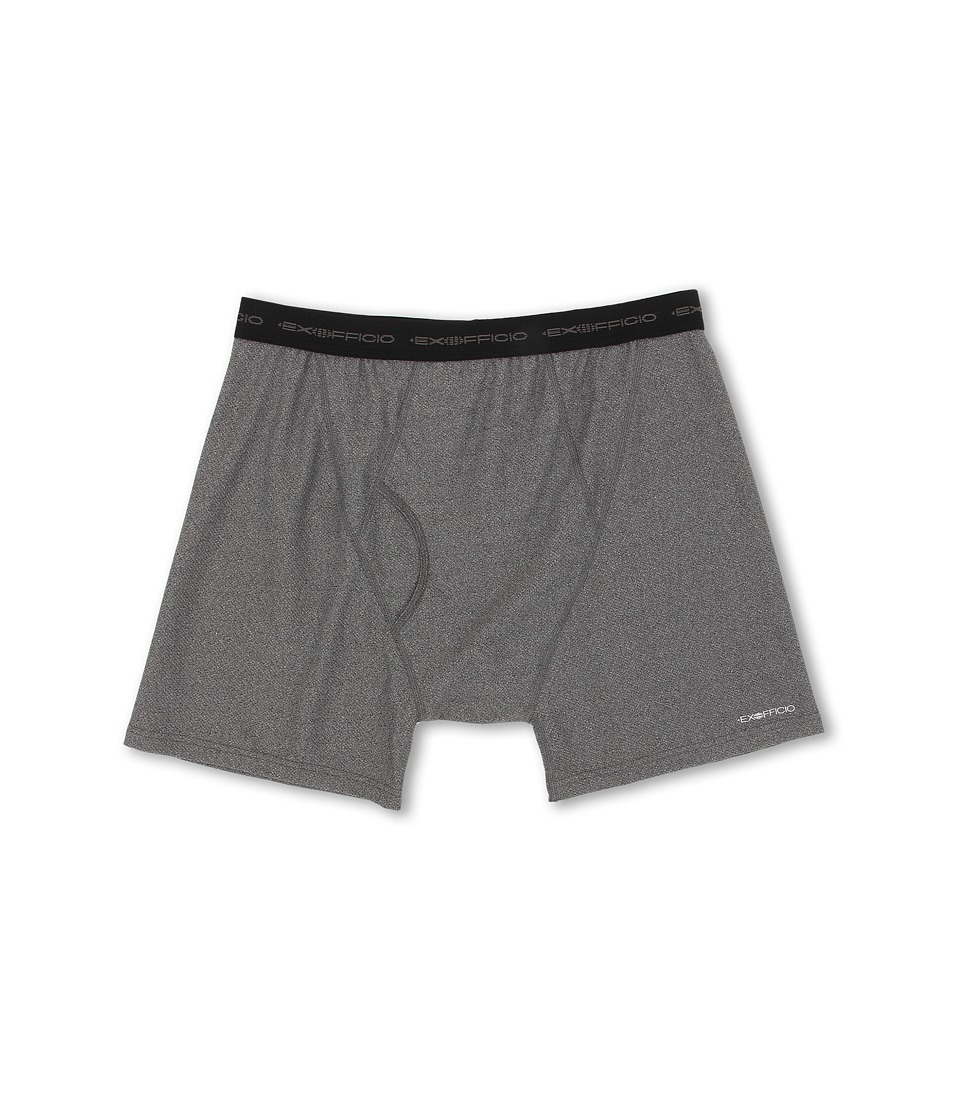 ExOfficio - Give-N-Go Boxer Brief (Charcoal Heather) Men