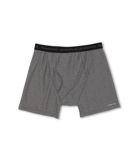 ExOfficio - Give-N-Go Boxer Brief (Charcoal Heather) Men's Underwear