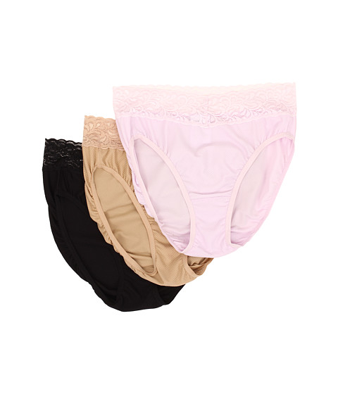 ExOfficio - Women's Give-N-Go Lacy Bikini 3-Pack (Light Grape Nude Black) Women's Underwear