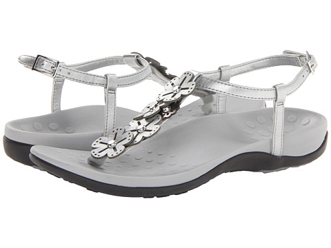 f35b6430a748de UPC 616542160029 product image for VIONIC with Orthaheel Technology Julie  II (Pewter) Women s Sandals ...