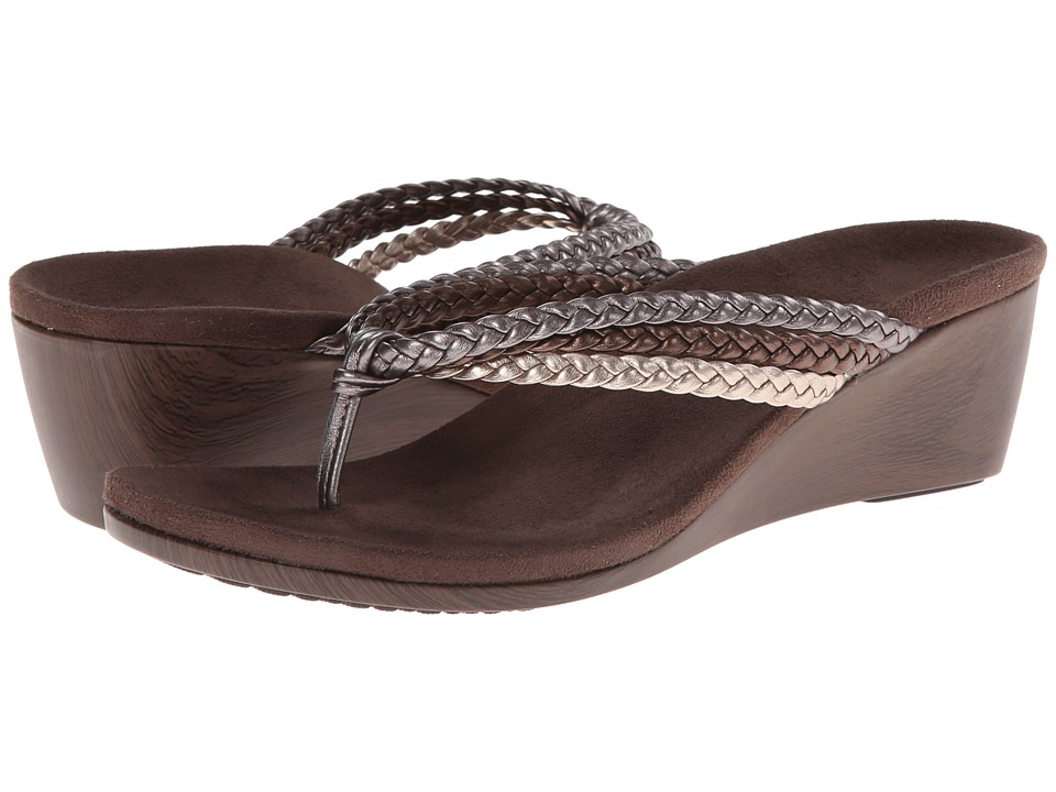 VIONIC with Orthaheel Technology - Ramba (Metallic Multi) Women's Sandals