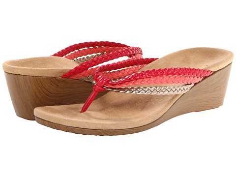 VIONIC with Orthaheel Technology - Ramba (Red Multi) Women's Sandals