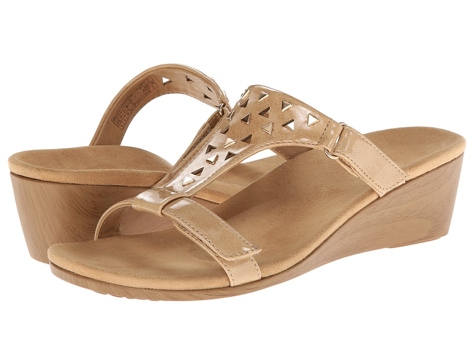 VIONIC with Orthaheel Technology - Maggie (Camel Patent) Women's Sandals
