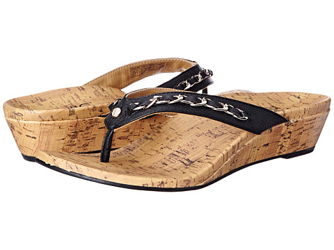 VIONIC with Orthaheel Technology - Aruba (Black) Women's Sandals