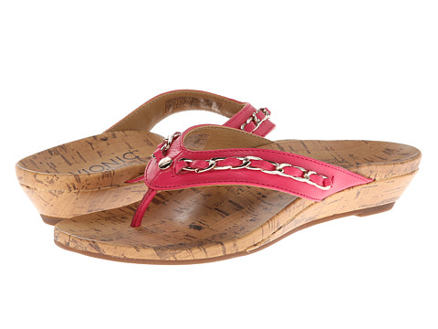 VIONIC with Orthaheel Technology - Aruba (Fuchsia) Women's Sandals