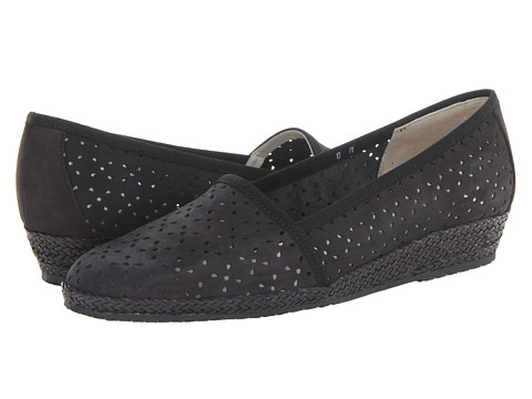 Sesto Meucci - 131 (Black Nubuck) Women's Flat Shoes