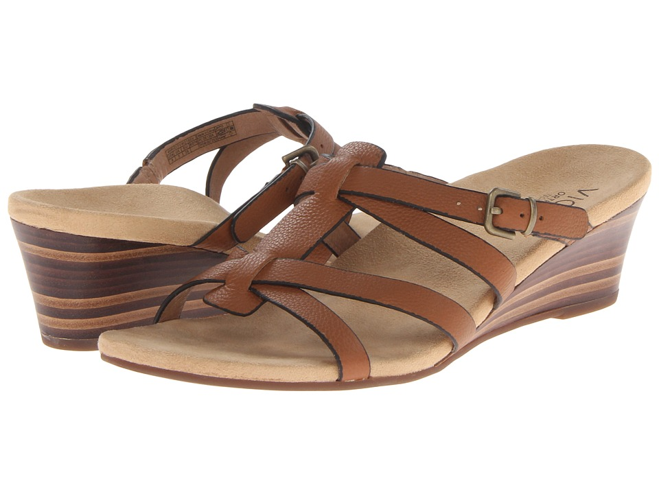 VIONIC with Orthaheel Technology - Rio (Saddle) Women's Sandals