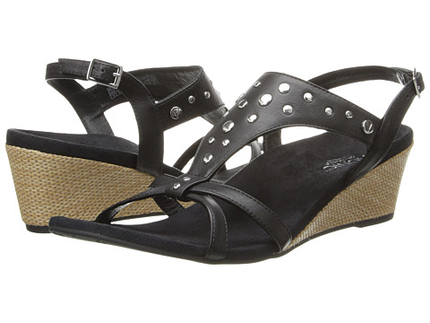 VIONIC with Orthaheel Technology - Catarina (Black) Women's Sandals