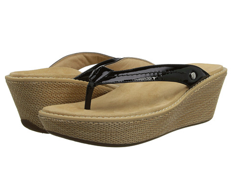 VIONIC with Orthaheel Technology - Grenada (Black) Women's Sandals
