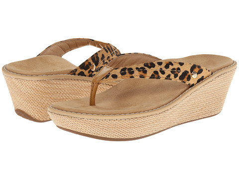 VIONIC with Orthaheel Technology - Grenada (Tan Leopard) Women's Sandals