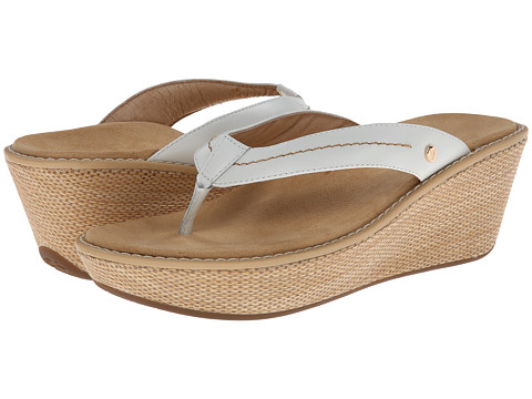 VIONIC with Orthaheel Technology - Grenada (White) Women's Sandals