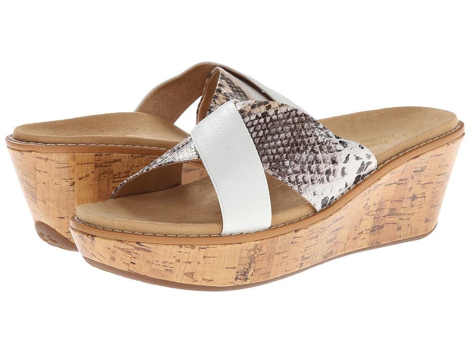 VIONIC - Montego (White Snake) Women's Sandals