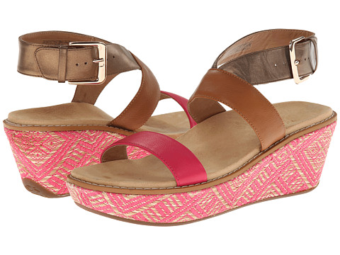 VIONIC with Orthaheel Technology - Cancun (Fuchsia) Women's Sandals