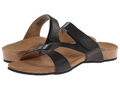 VIONIC with Orthaheel Technology - Pamplona (Black) Women's Sandals