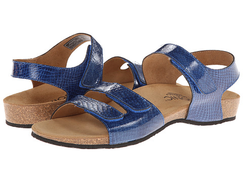 VIONIC with Orthaheel Technology - Valencia (Navy Snake) Women's Sandals