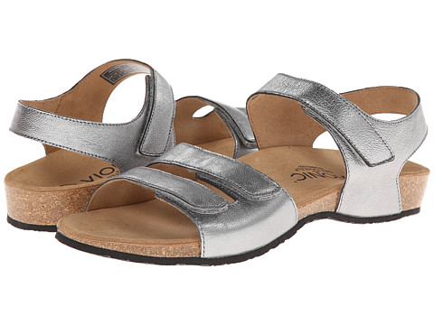 VIONIC with Orthaheel Technology - Valencia (Pewter Snake) Women's Sandals