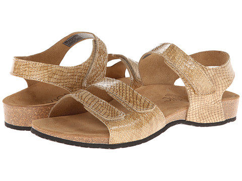 VIONIC with Orthaheel Technology - Valencia (Tan Snake) Women's Sandals