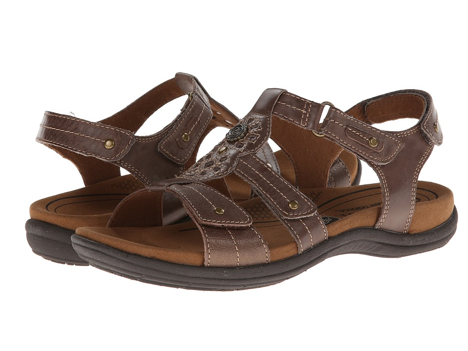 Rockport Cobb Hill Collection - Cobb Hill REVsoothe (Stone) Women's Sandals