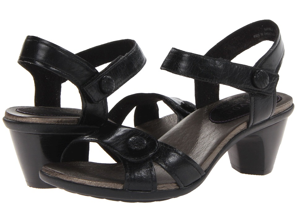 Aravon - Mila (Black) Women's Sandals