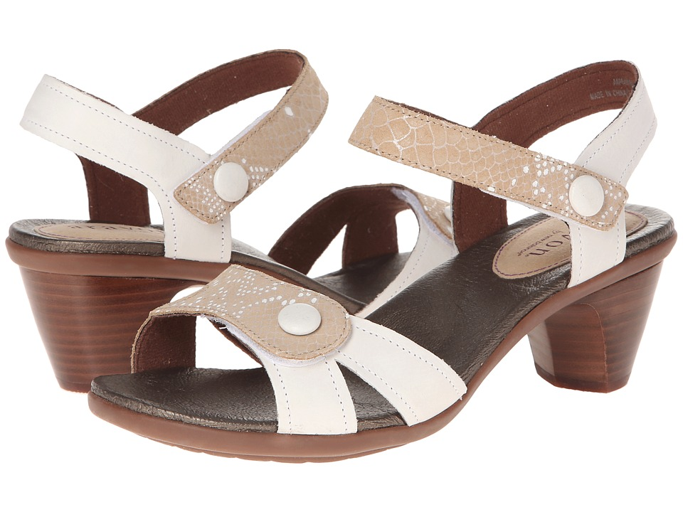 Aravon - Mila (White Multi) Women's Sandals