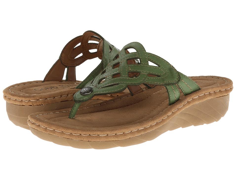 Cobb Hill - Grace (Green) Women's Sandals