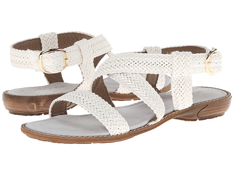 Sesto Meucci - Basket (White Tuffy Weave) Women's Sandals