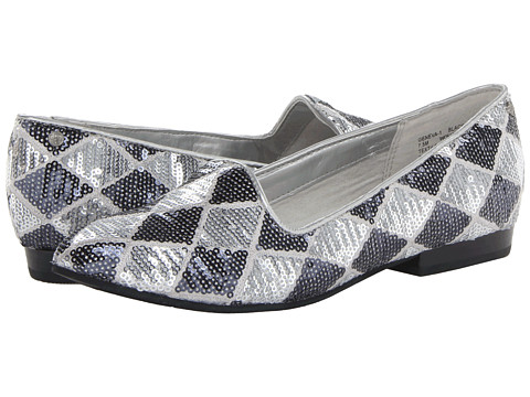 Bass - Geneva (Black/Silver 2) Women