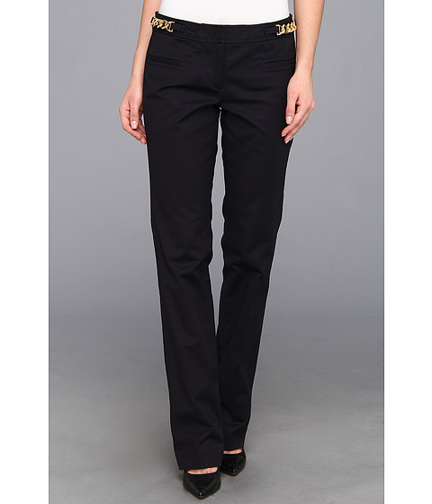 MICHAEL Michael Kors - Sexy Hardware Pant (Dark Midnight) Women's Casual Pants