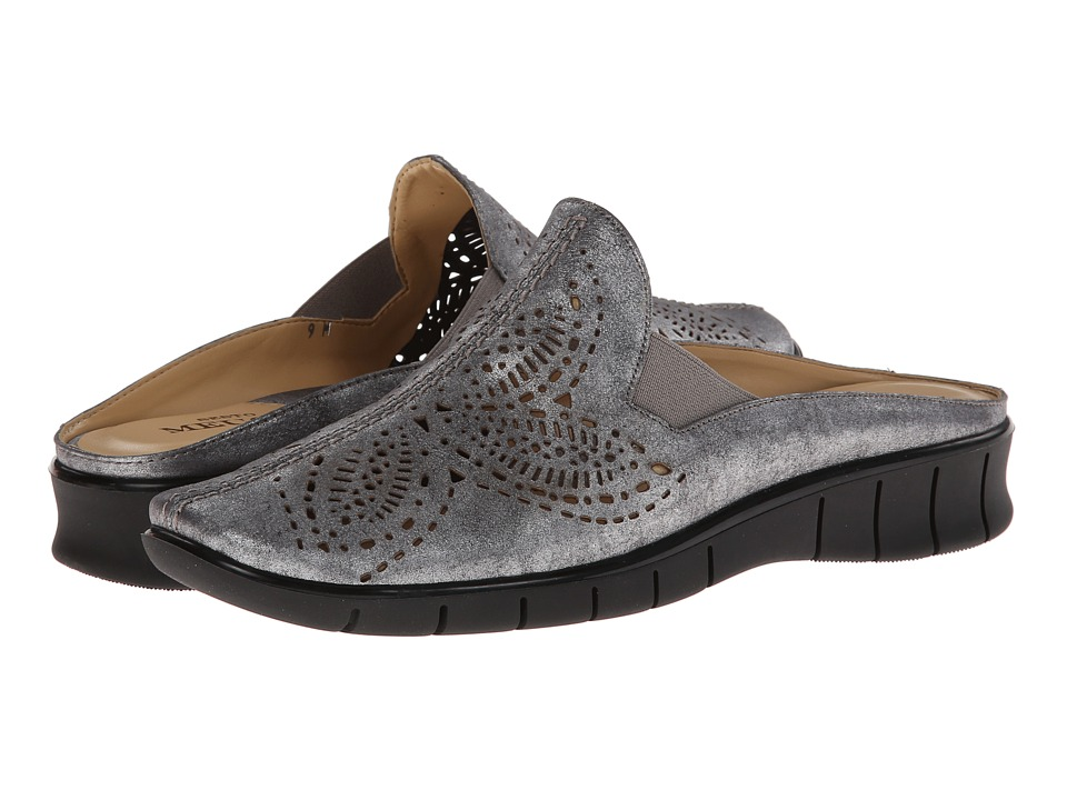 Sesto Meucci - Cruz (Black (Pewter) Roxy) Women's Clog Shoes