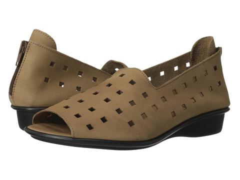 Sesto Meucci - Evonne (Camel (Visio) Nubuck) Women's Sandals