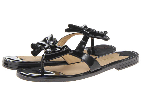 Sesto Meucci - Igloo (Black Super Patent) Women's Sandals