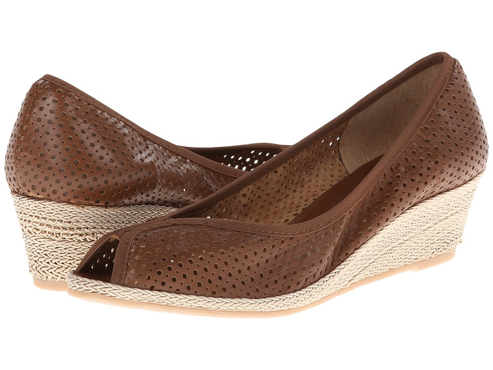 Sesto Meucci - Mersey (Cuoio Nappa/Beige Rope) Women's Wedge Shoes