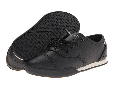 Macbeth - Gatsby (Black/Cement/Premium Synthetic Leather) Men's Skate Shoes