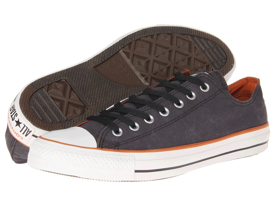 Converse - Chuck Taylor All Star Vintage Wash Ox (Black) Athletic Shoes