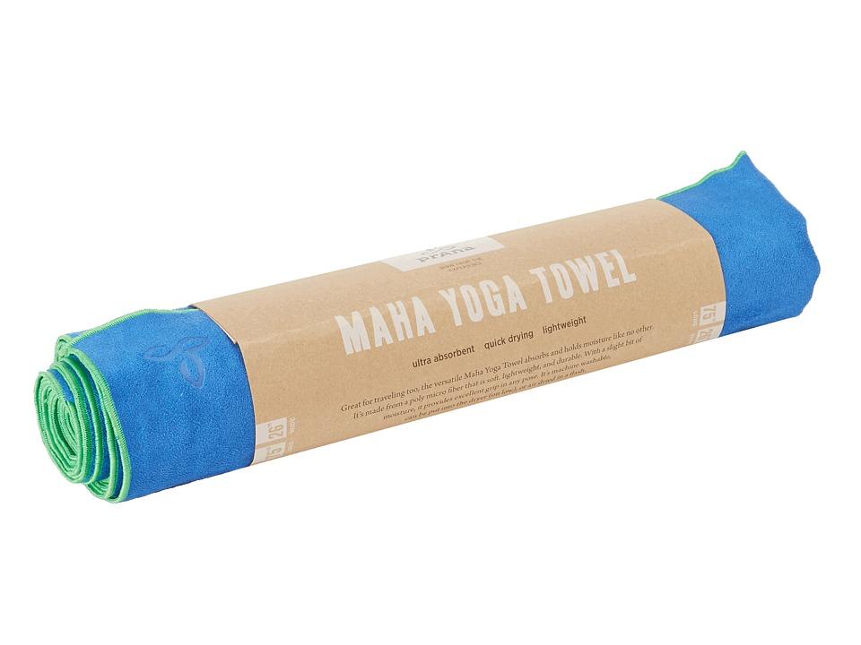 Prana - Maha Yoga Towel (Sapphire) Bath Towels