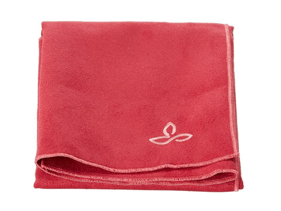 Prana - Maha Hand Towel (Scarlet) Bath Towels