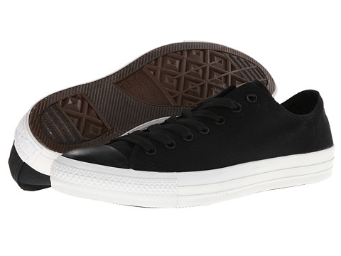Converse - Chuck Taylor All Star Mono Ox (Black) Lace up casual Shoes