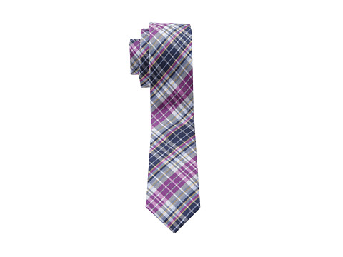Original Penguin - Douglass Plaid Tie (Magenta) Ties