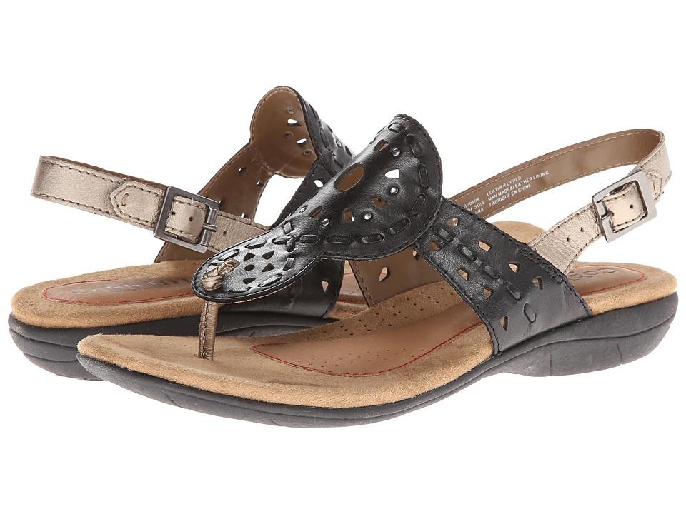 Rockport Cobb Hill Collection - Willa (Black) Women's Sandals