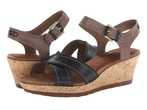 Cobb Hill - Neve (Black Multi) Women's Sandals