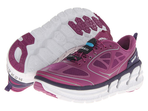 Hoka One One - Conquest (Clover/Mulberry/White) Women's Running Shoes