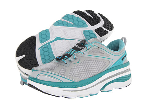 Hoka One One - Bondi EVO (Baltic/Hi Rise/White) Women's Running Shoes