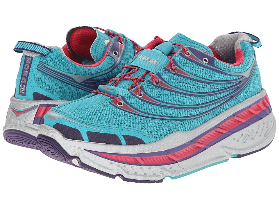 Hoka One One - Stinson Tarmac (Baltic/Paradise Pink) Women's Running Shoes