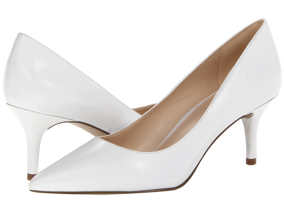 Nine West - Margot (White Leather) High Heels