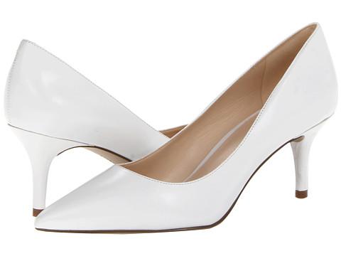 Nine West - Margot (White Leather) High Heels