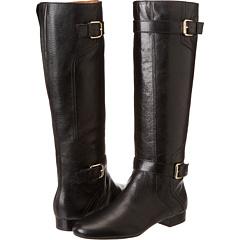 Nine West Punter (Black Leather) Footwear