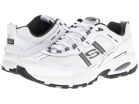SKECHERS - Vigor 2.0 Serpentine (White) Men's Running Shoes