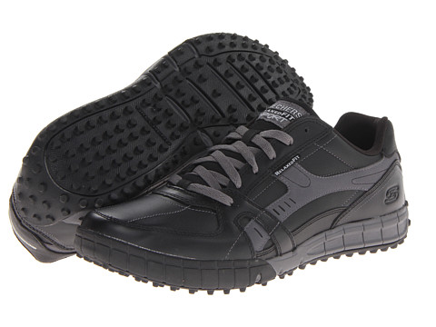 SKECHERS - Floater Down Time (Black/Char) Men's Running Shoes