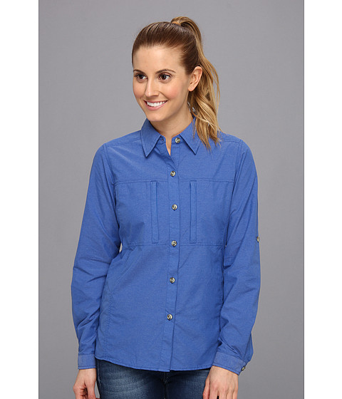 ExOfficio - Dryflylite Long Sleeve Shirt (Varsity) Women